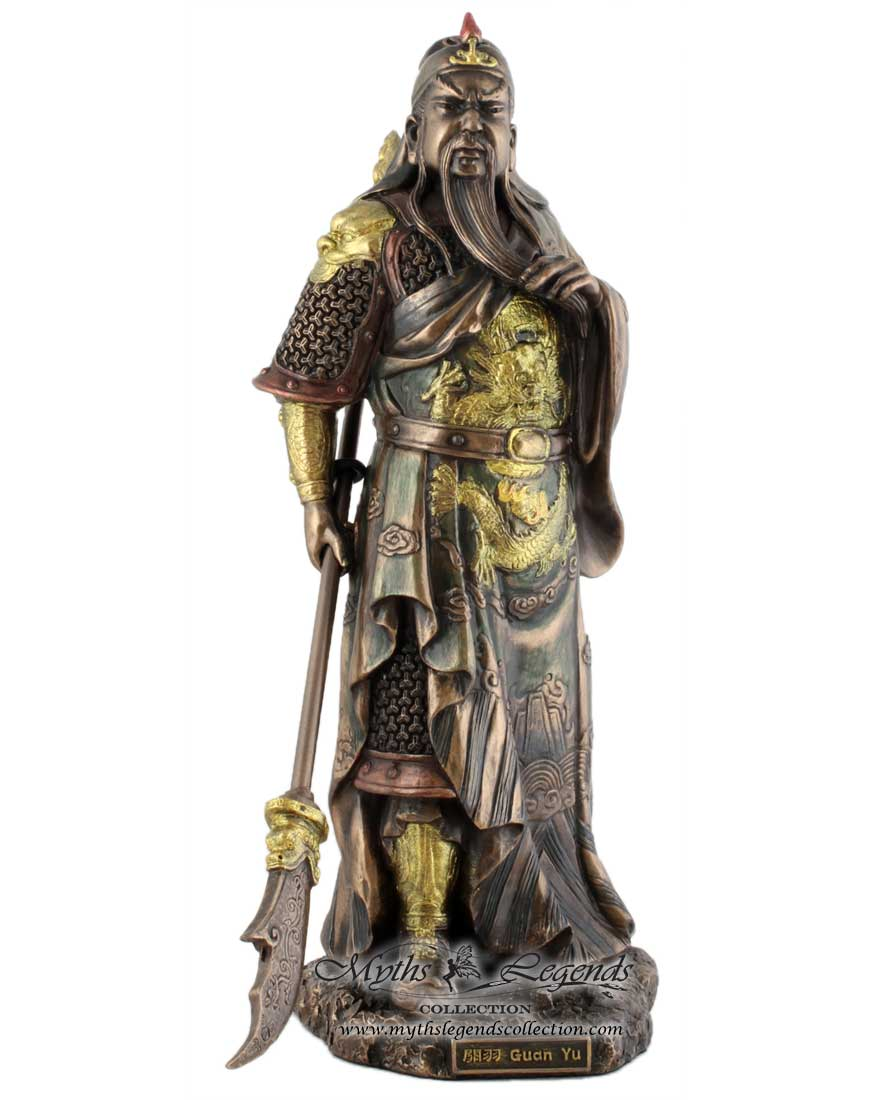 Standing Guan Yu Myths Amp Legends Collection