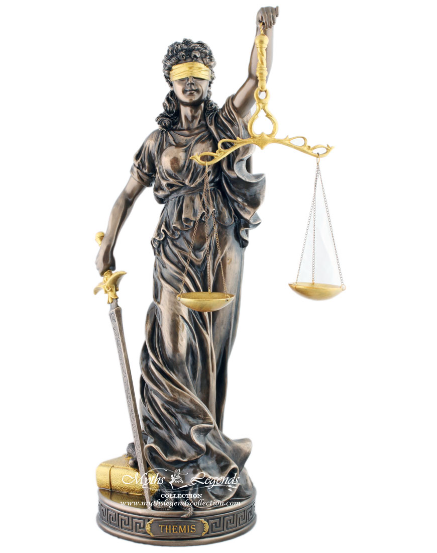 Themis, Lady Justice (Large) – Myths & Legends Collection